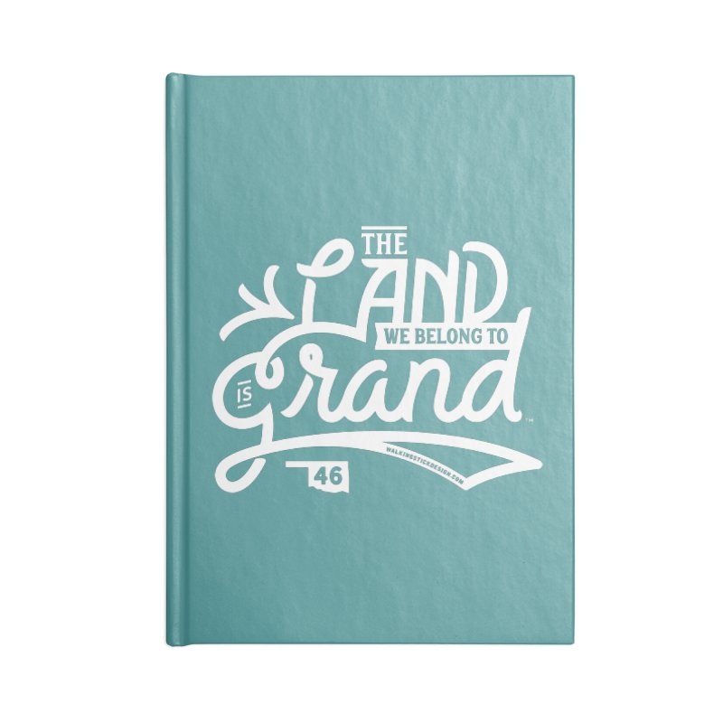 The Land Accessories Notebook by WalkingStick Design's Artist Shop