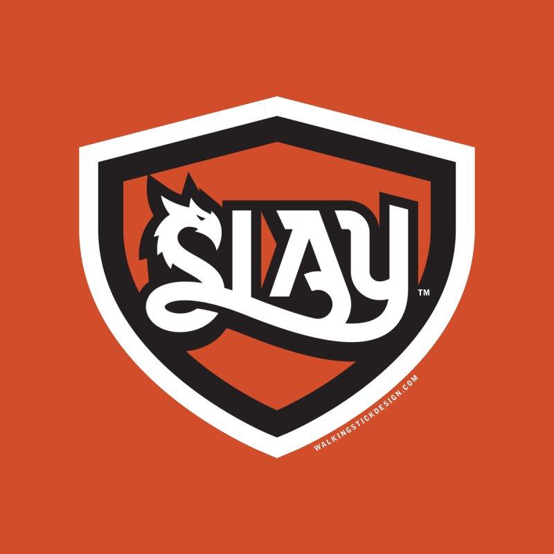 SLAY Shirt - Official Shield Design by WalkingStick Design's Artist Shop