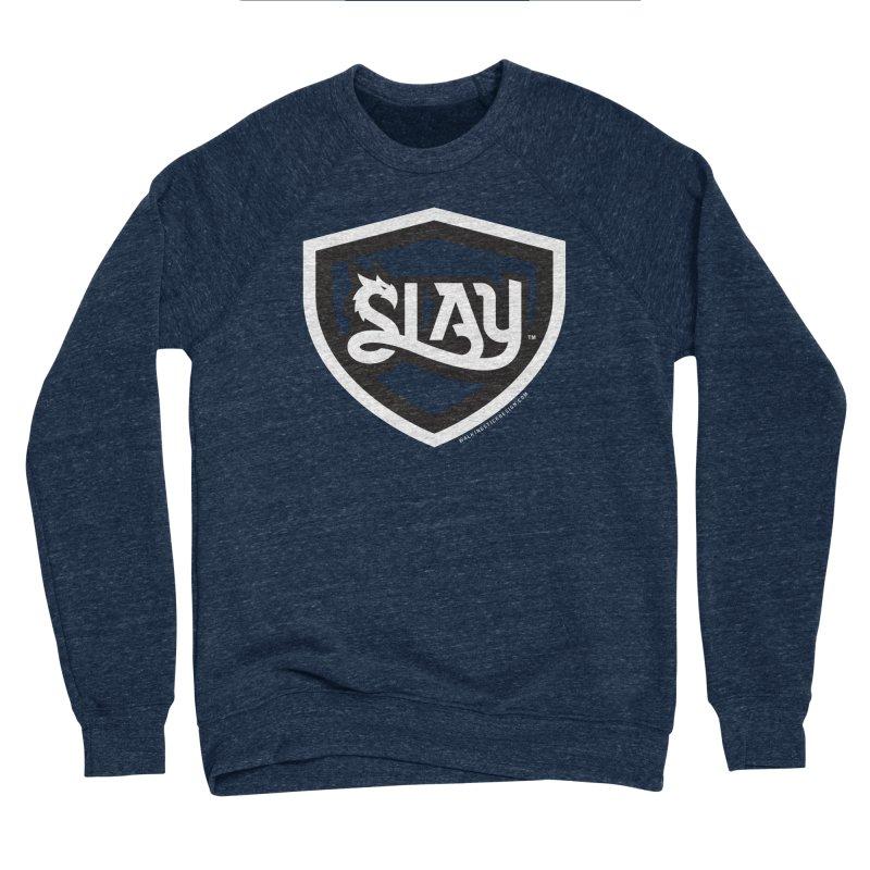 SLAY Shirt - Official Shield Design Women's Sponge Fleece Sweatshirt by WalkingStick Design's Artist Shop