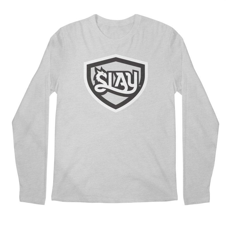 SLAY Shirt - Official Shield Design Men's Regular Longsleeve T-Shirt by WalkingStick Design's Artist Shop