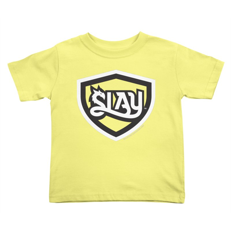 SLAY Shirt - Official Shield Design Kids Toddler T-Shirt by WalkingStick Design's Artist Shop