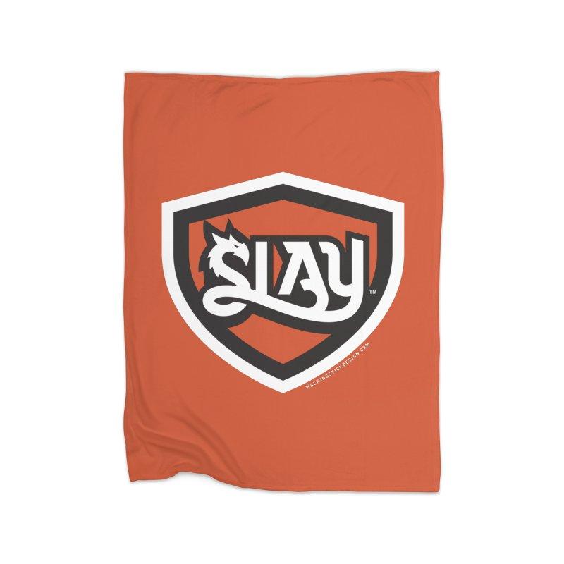 SLAY Shirt - Official Shield Design Home Blanket by WalkingStick Design's Artist Shop