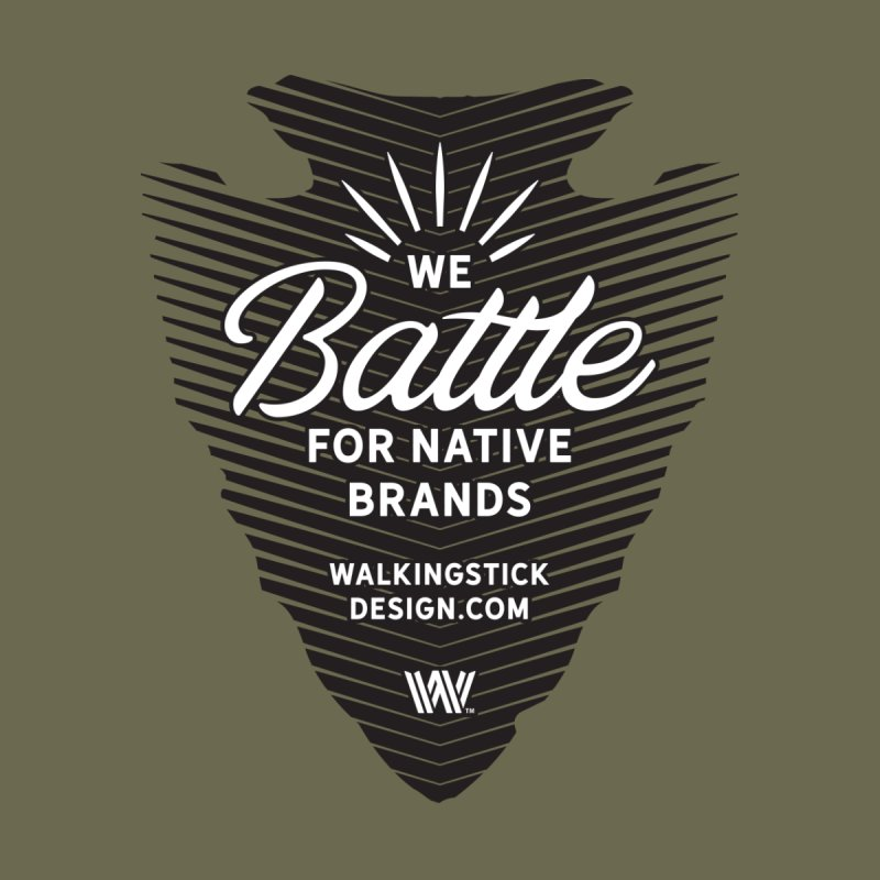 Arrowhead + WalkingStick Design Co. Men's T-Shirt by WalkingStick Design's Artist Shop