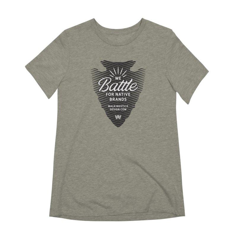 Arrowhead - WalkingStick Design Co. Women's Extra Soft T-Shirt by WalkingStick Design's Artist Shop
