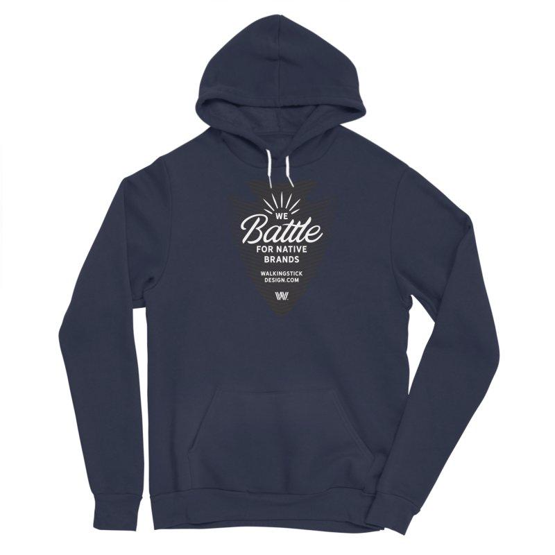 Arrowhead + WalkingStick Design Co. Men's Pullover Hoody by WalkingStick Design's Artist Shop