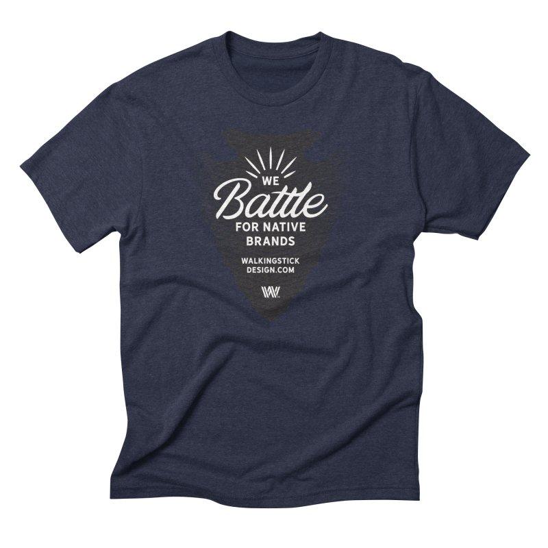 Arrowhead - WalkingStick Design Co. Men's Triblend T-Shirt by WalkingStick Design's Artist Shop