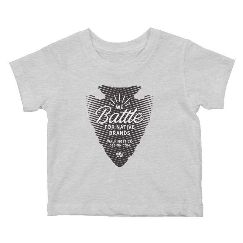 Arrowhead + WalkingStick Design Co. Kids Baby T-Shirt by WalkingStick Design's Artist Shop