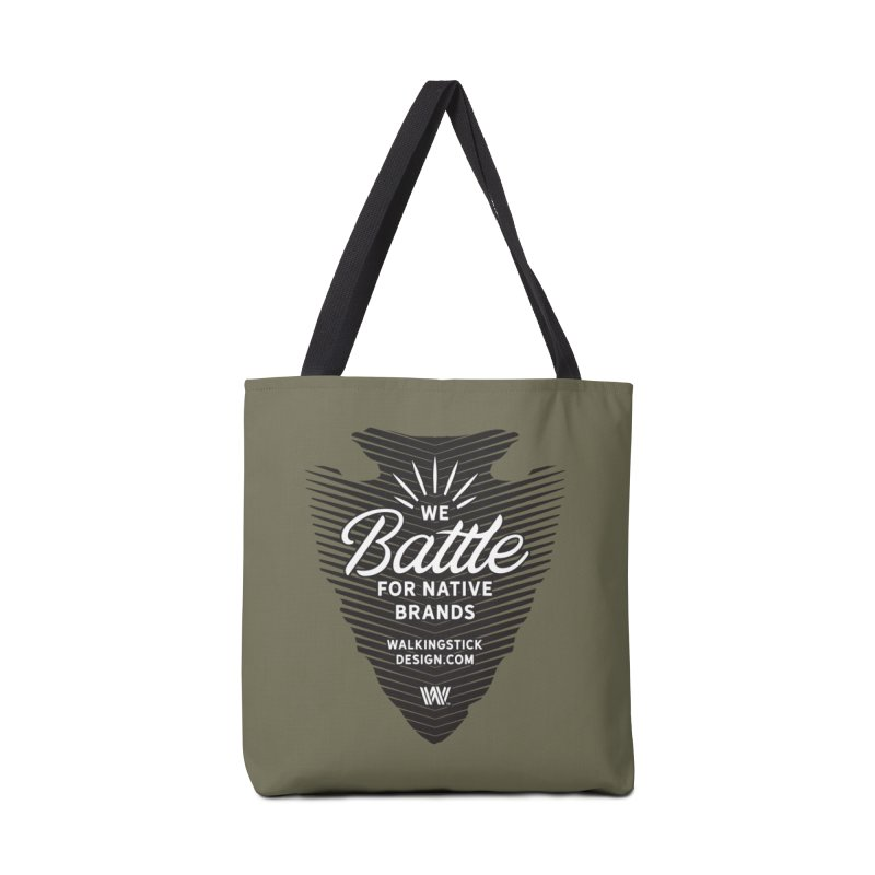 Arrowhead + WalkingStick Design Co. Accessories Tote Bag Bag by WalkingStick Design's Artist Shop