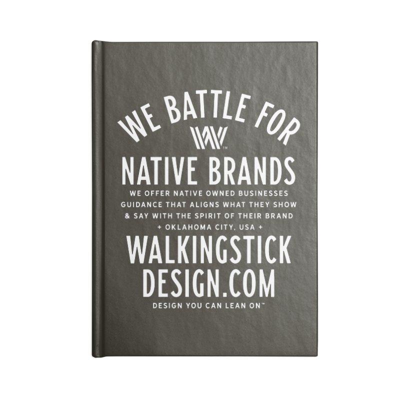 Label  + WalkingStick Design Co. Accessories Blank Journal Notebook by WalkingStick Design's Artist Shop