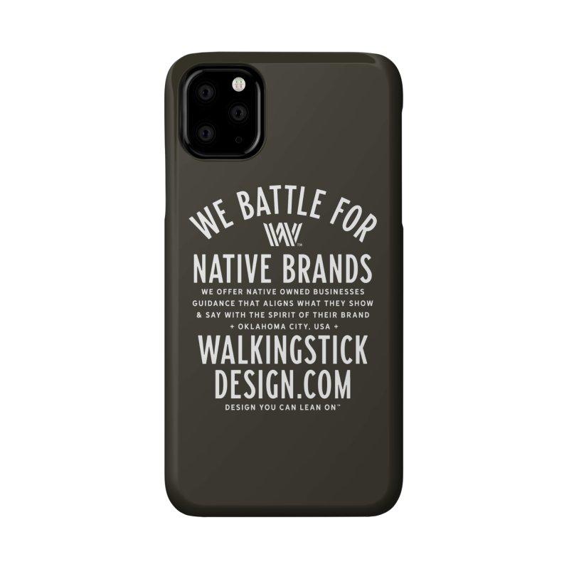Label  + WalkingStick Design Co. Accessories Phone Case by WalkingStick Design's Artist Shop