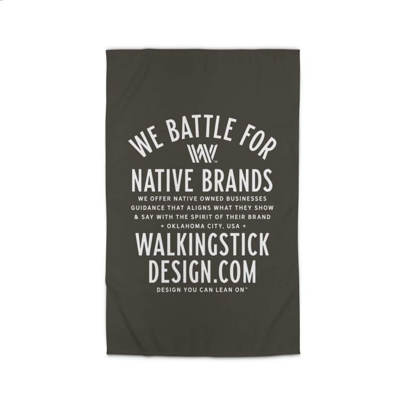 Label  + WalkingStick Design Co. Home Rug by WalkingStick Design's Artist Shop