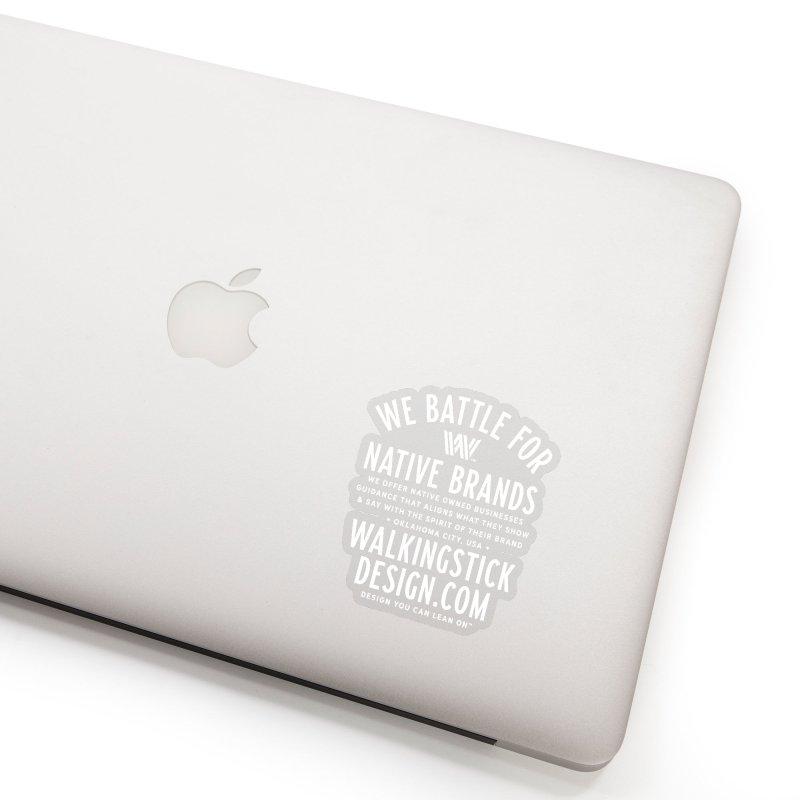 Label  + WalkingStick Design Co. Accessories Sticker by WalkingStick Design's Artist Shop