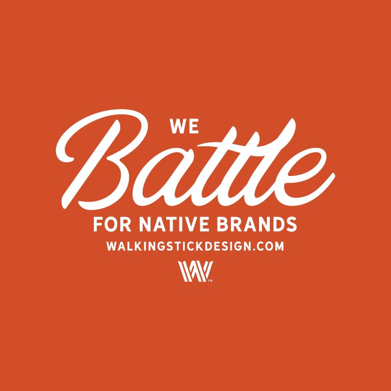 Battle + WalkingStick Design Co. Home Mounted Aluminum Print by WalkingStick Design's Artist Shop
