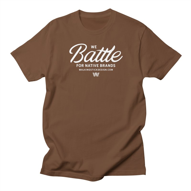 Battle + WalkingStick Design Co. Women's Regular Unisex T-Shirt by WalkingStick Design's Artist Shop