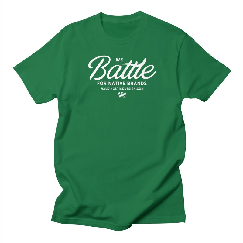Battle + WalkingStick Design Co. Women's Regular Unisex T-Shirt by WalkingStick Design's Artist Shop