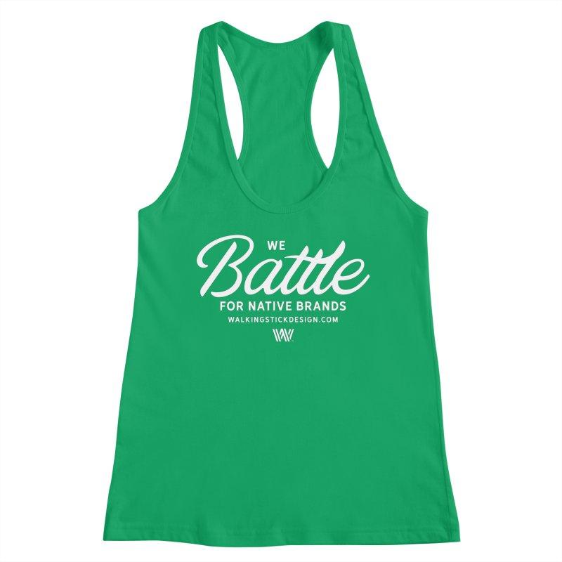 Battle + WalkingStick Design Co. Women's Tank by WalkingStick Design's Artist Shop