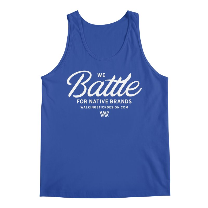 Battle + WalkingStick Design Co. Men's Tank by WalkingStick Design's Artist Shop