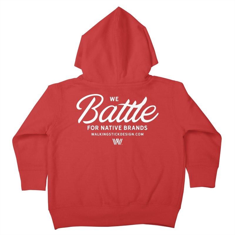 Battle + WalkingStick Design Co. Kids Toddler Zip-Up Hoody by WalkingStick Design's Artist Shop