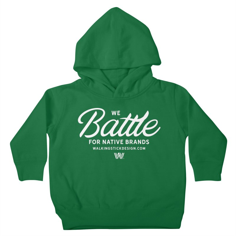 Battle + WalkingStick Design Co. Kids Toddler Pullover Hoody by WalkingStick Design's Artist Shop
