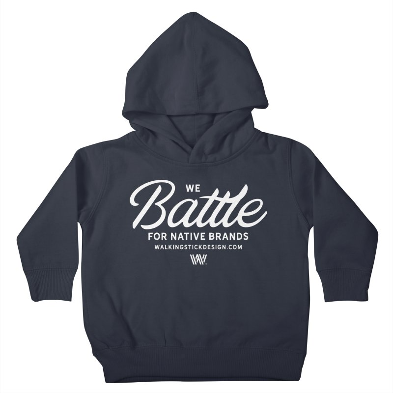Battle + WalkingStick Design Co. Kids Toddler Pullover Hoody by WalkingStick Design's Artist Shop
