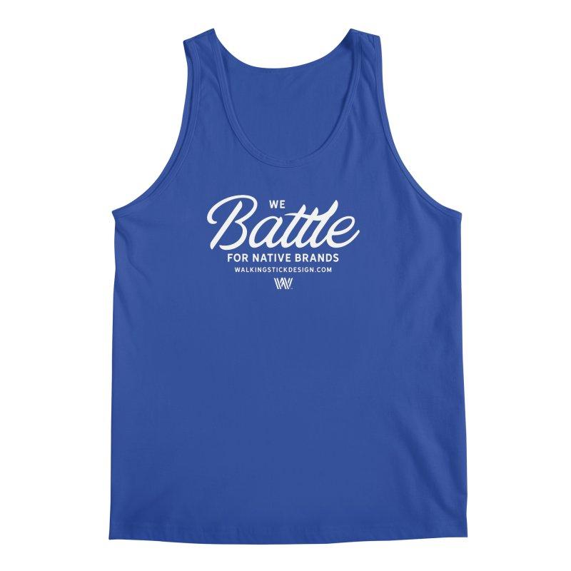 Battle + WalkingStick Design Co. Men's Regular Tank by WalkingStick Design's Artist Shop