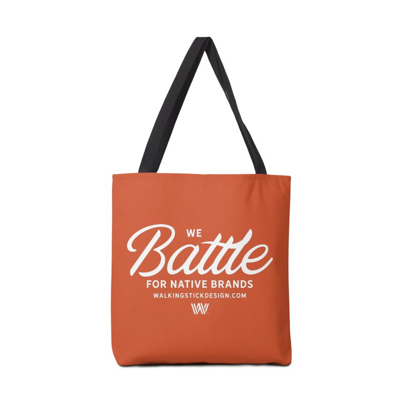 Battle + WalkingStick Design Co. Accessories Bag by WalkingStick Design's Artist Shop