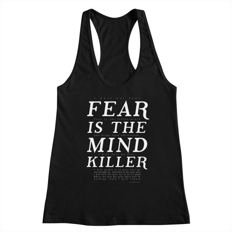 Litany Against Fear Women's Tank by thunderpeel
