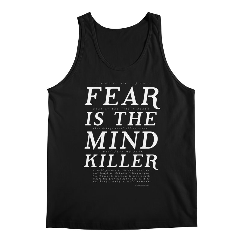 Litany Against Fear Men's Regular Tank by thunderpeel