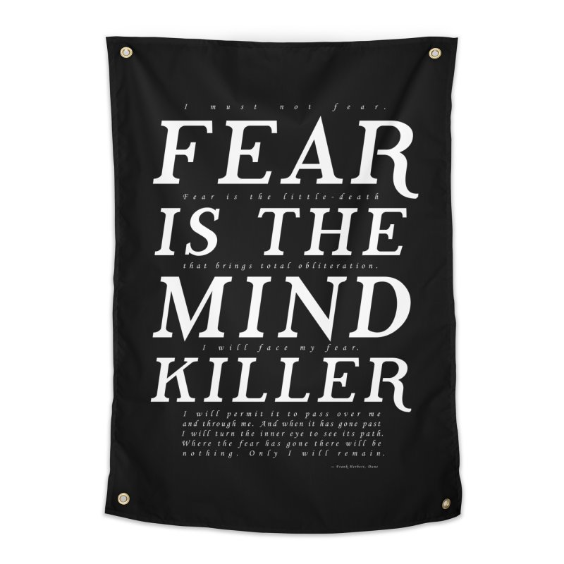 Litany Against Fear Home Tapestry by thunderpeel