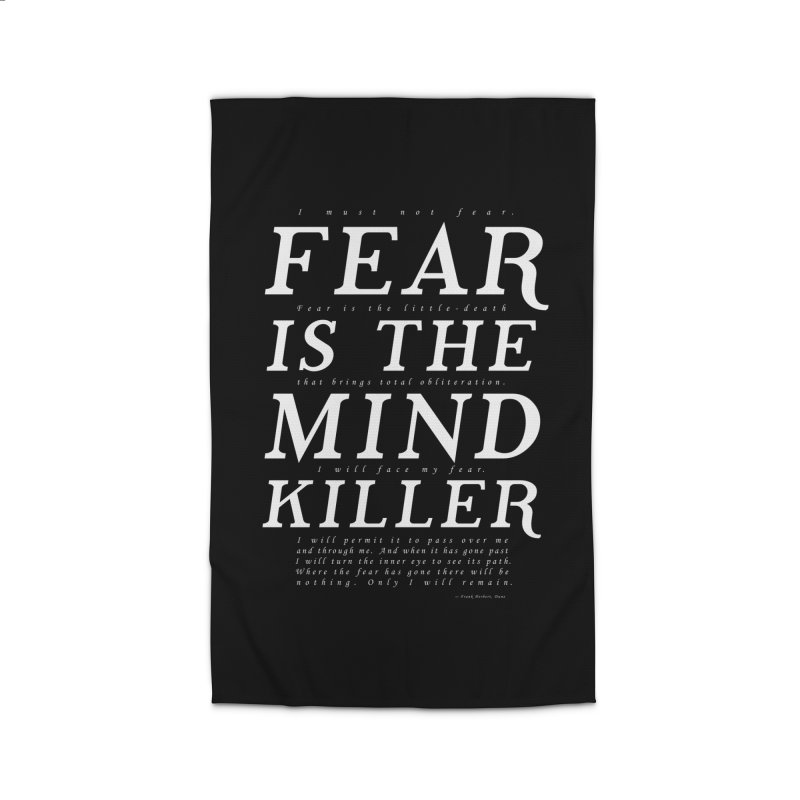 Litany Against Fear Home Rug by thunderpeel
