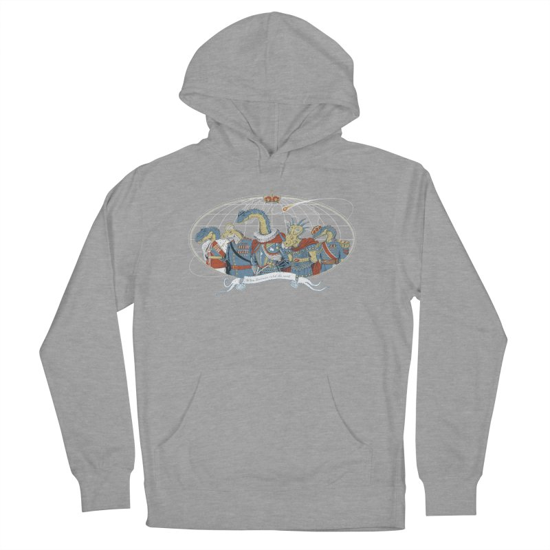 When Dinosaurs Ruled the Earth Women's Pullover Hoody by thunderpeel