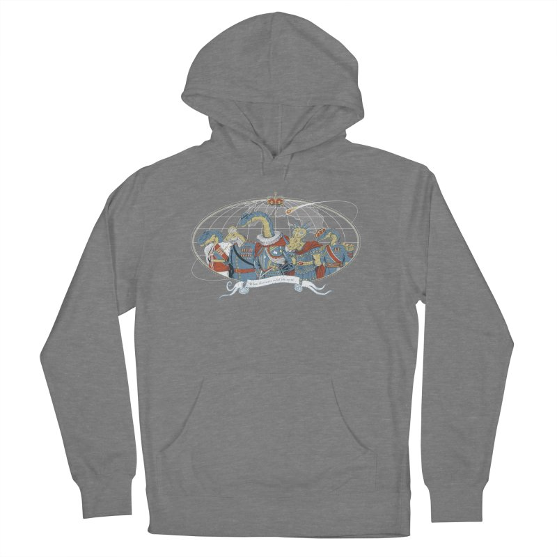 When Dinosaurs Ruled the Earth Men's French Terry Pullover Hoody by thunderpeel