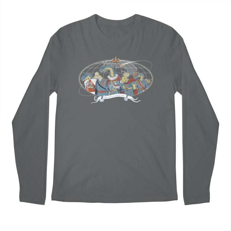 When Dinosaurs Ruled the Earth Men's Longsleeve T-Shirt by thunderpeel