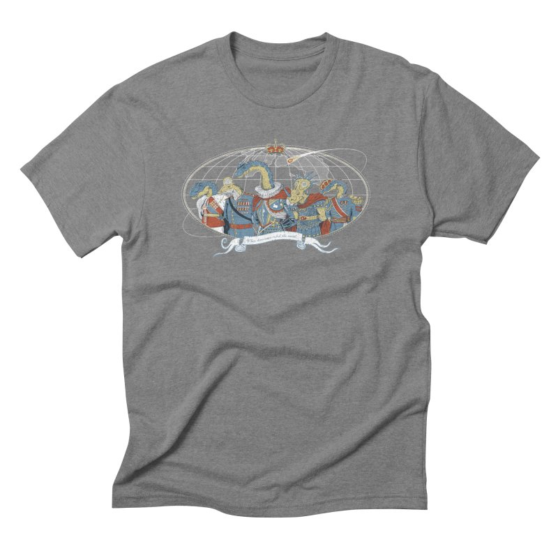 When Dinosaurs Ruled the Earth Men's T-Shirt by thunderpeel