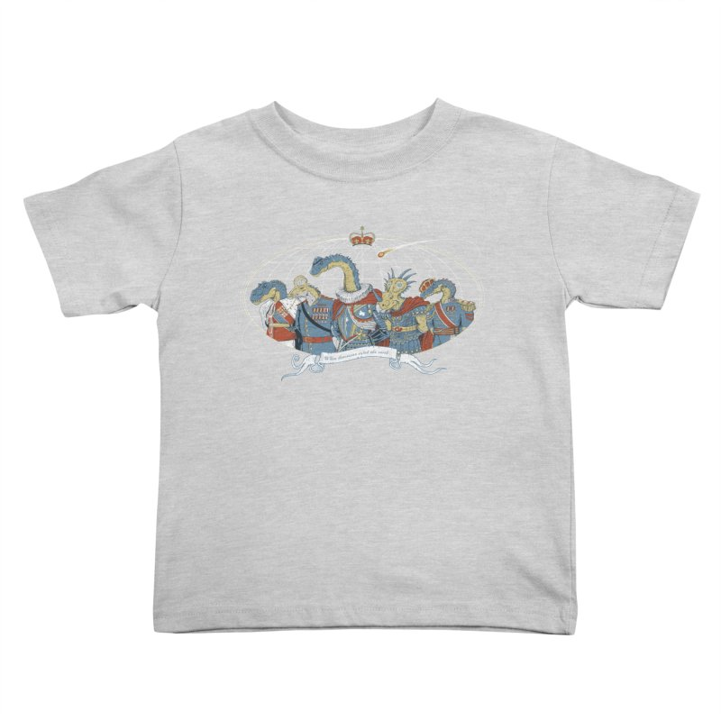 When Dinosaurs Ruled the Earth Kids Toddler T-Shirt by thunderpeel