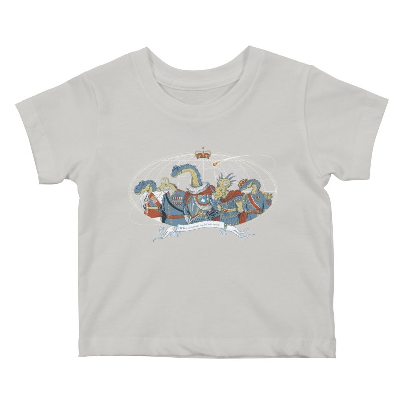 When Dinosaurs Ruled the Earth Kids Baby T-Shirt by thunderpeel