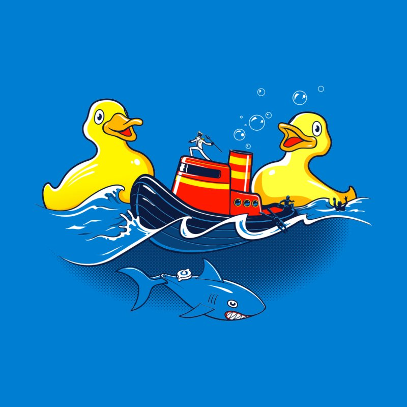Quack Attack Men's T-Shirt by thunderpeel