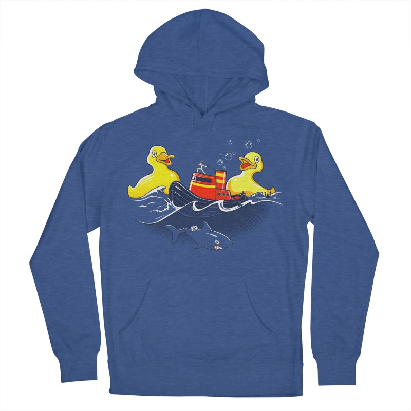 Quack Attack Men's French Terry Pullover Hoody by thunderpeel