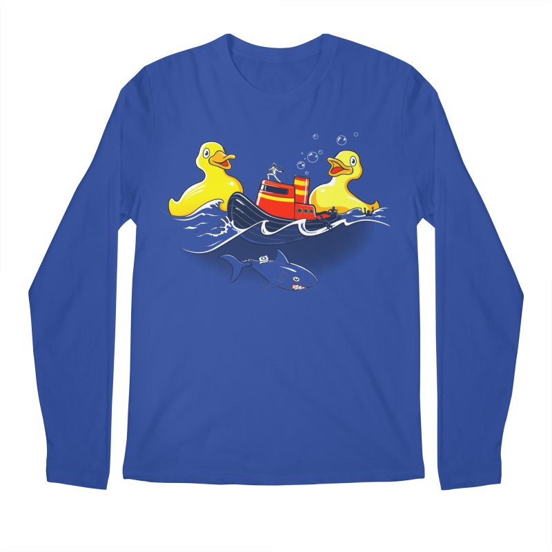 Quack Attack Men's Longsleeve T-Shirt by thunderpeel