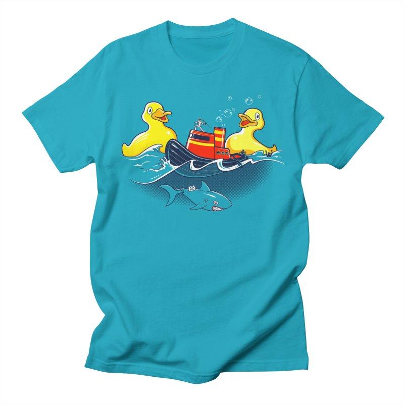 Quack Attack Men's T-Shirt by thunderpeel