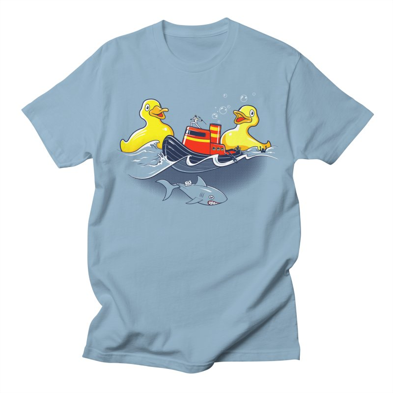 Quack Attack Men's Regular T-Shirt by thunderpeel
