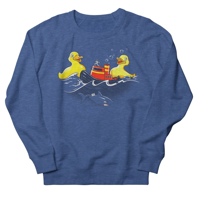 Quack Attack Men's French Terry Sweatshirt by thunderpeel