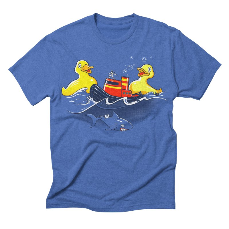 Quack Attack Men's Triblend T-shirt by thunderpeel