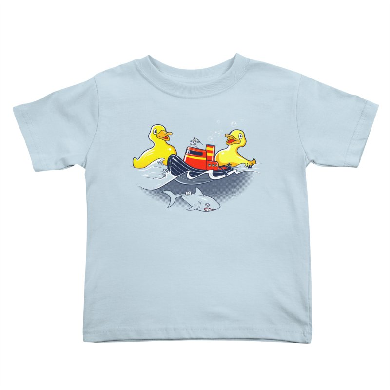 Quack Attack Kids Toddler T-Shirt by thunderpeel