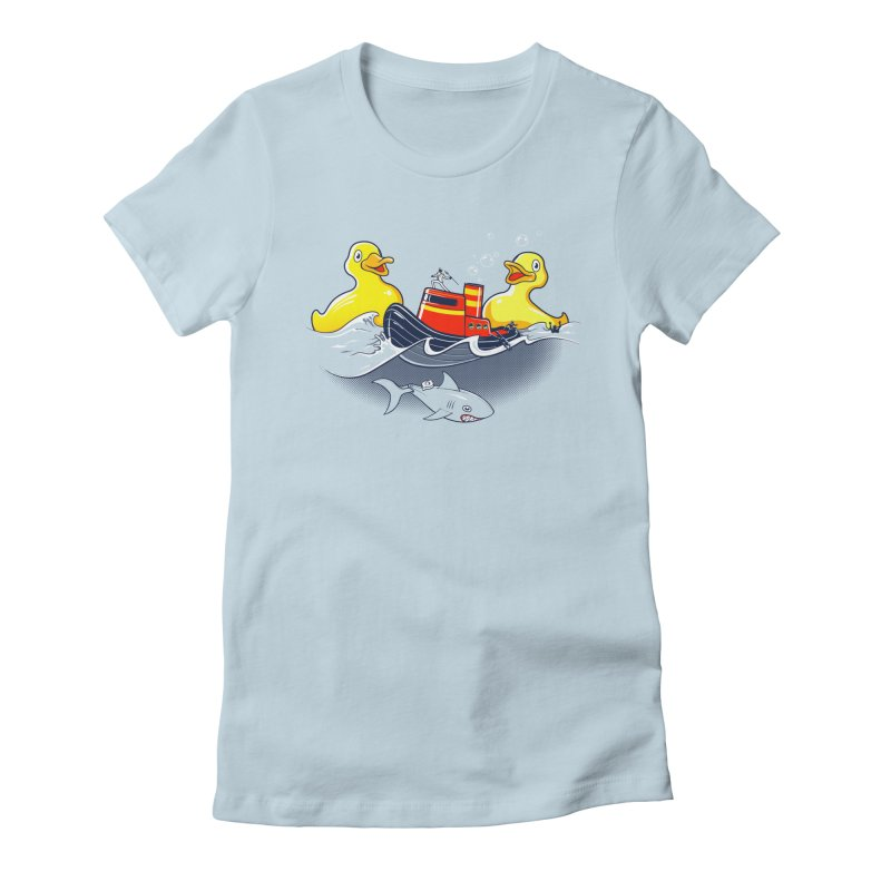 Quack Attack Women's T-Shirt by thunderpeel