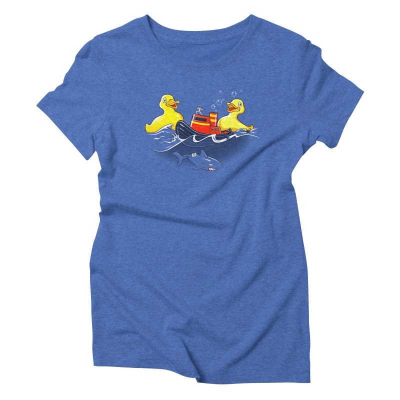 Quack Attack Women's Triblend T-shirt by thunderpeel