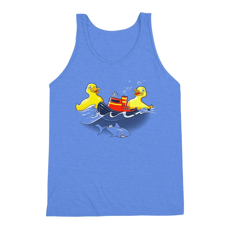 Quack Attack Men's Triblend Tank by thunderpeel