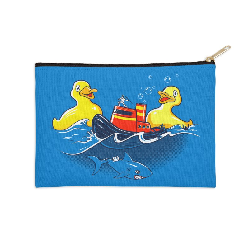 Quack Attack Accessories Zip Pouch by thunderpeel