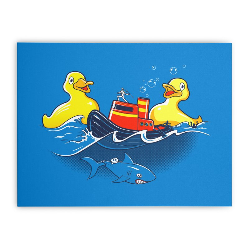 Quack Attack Home Stretched Canvas by thunderpeel