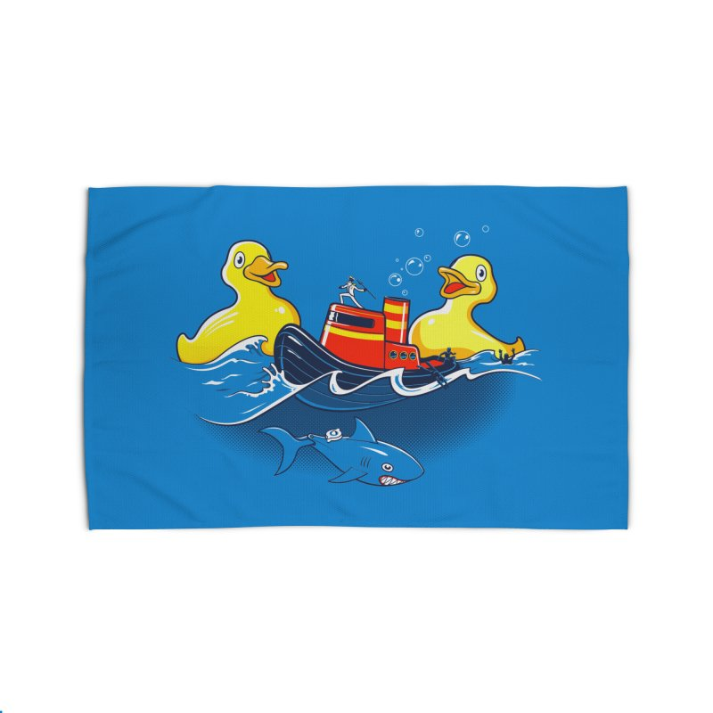 Quack Attack Home Rug by thunderpeel